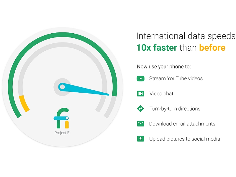 Google Project Fi Subscribers Can Now Avail High-Speed Data in Over 135 Countries