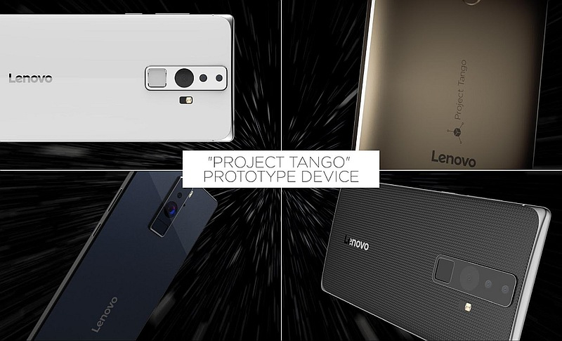 Google, Lenovo Unveil First Project Tango Smartphone at CES 2016