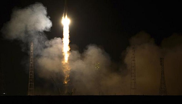 PSLV-C24 blasts off carrying satellite for India's navigation system