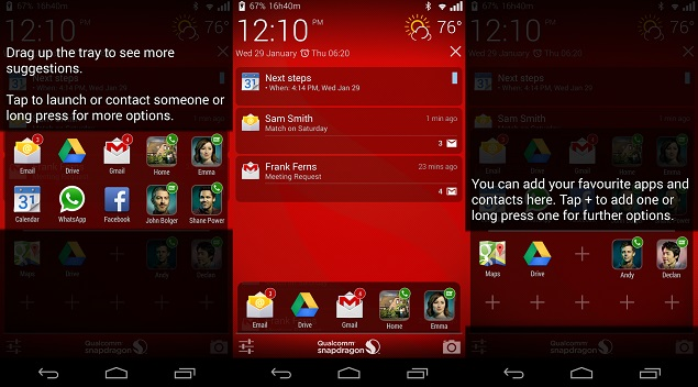 Qualcomm Snapdragon Glance lock screen app for Android released on Play Store