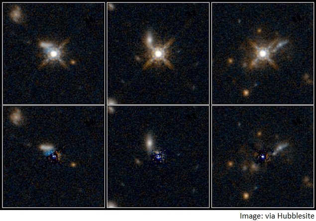 Nasa's Hubble Telescope Shows Formative Years of Quasars