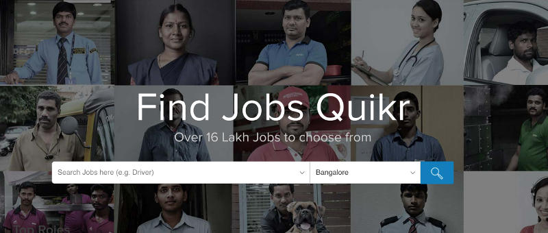 Quikr Launches New Vertical for Entry-Level Jobs, Touts Missed Call Service