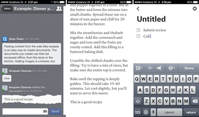 Former Facebook CTO launches collaborative document editor Quip