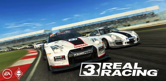 Real Racing 3 comes to iOS, Android worldwide