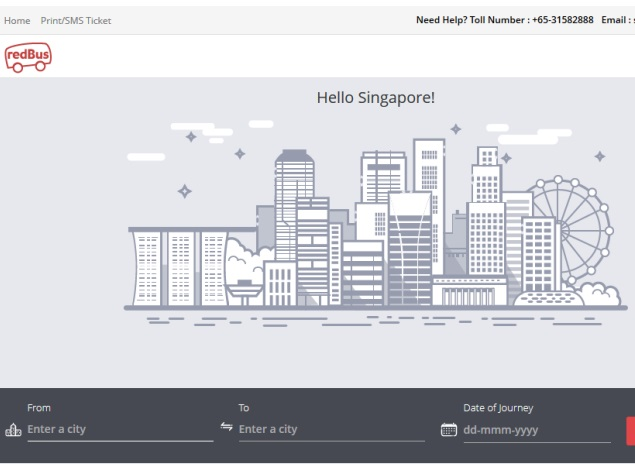 Redbus Expands Operations to Malaysia, Singapore
