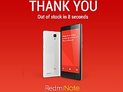 75,000 Redmi Note Units Go Out of Stock in 8 Seconds, Says Xiaomi