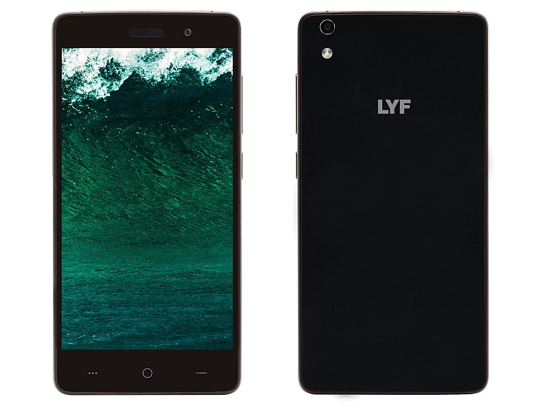 Lyf Water 5 With 4G Support, 13-Megapixel Camera Launched at Rs. 11,699