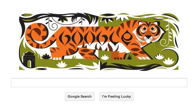 Google doodles 64th Republic Day India