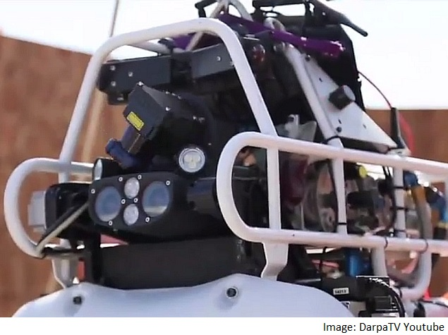 Robots Compete in Fukushima-Inspired US Challenge