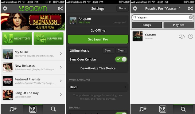 Saavn launches Saavn Pro; Gaana comes to Windows Phone 8