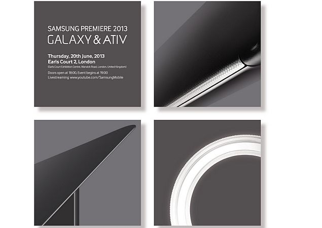 Samsung announces Premiere event on June 20, to launch new Galaxy and Ativ devices