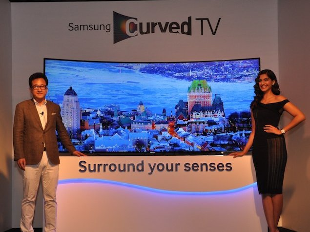 samsung launches range of full hd and 4k uhd curved led. Black Bedroom Furniture Sets. Home Design Ideas