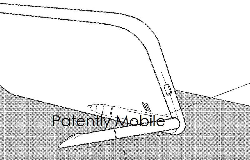 Samsung Patent Tips Future S Pen Stylus Doubling as a Kickstand