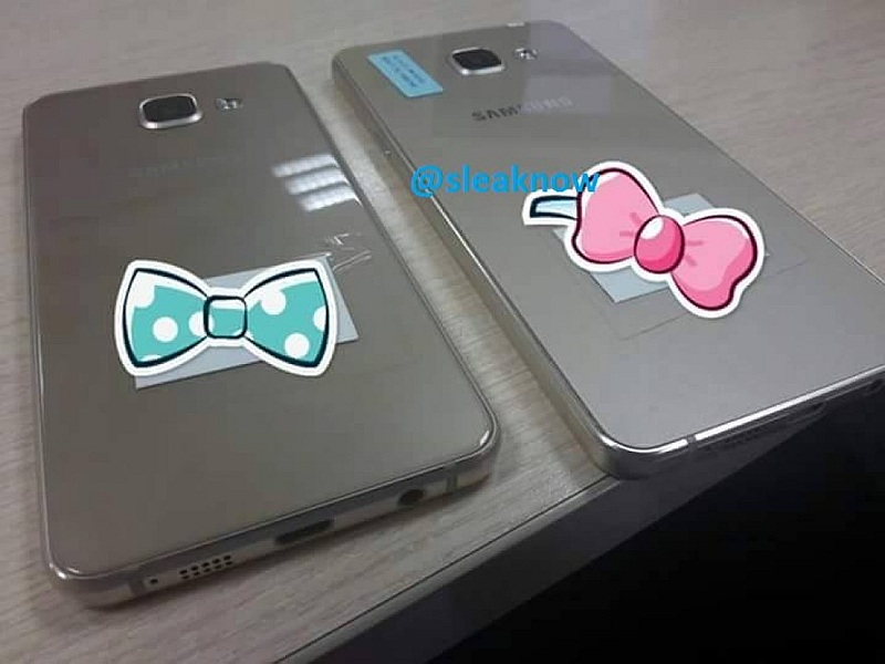 Samsung Galaxy A3, Galaxy A5 Successors Leaked in Images