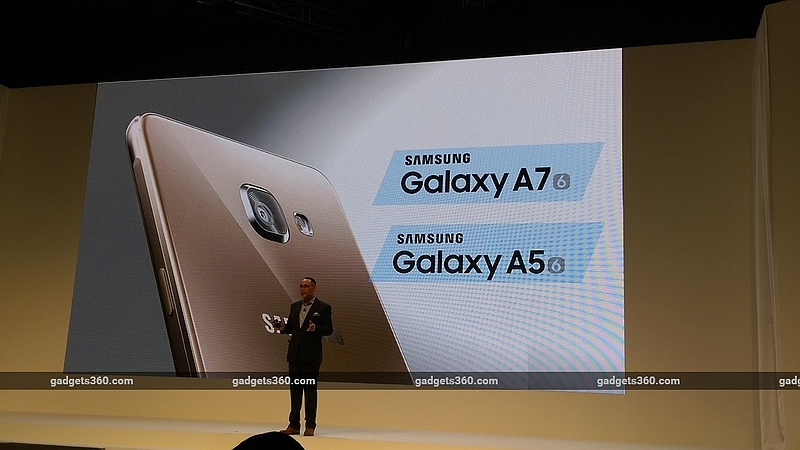 Samsung Galaxy A7 (2016), Galaxy A5 (2016) Launched in India