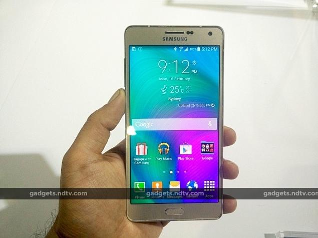 Samsung Galaxy A7: First Impressions
