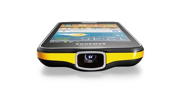 Samsung Galaxy Beam Projector Phone Now Available At Rs
