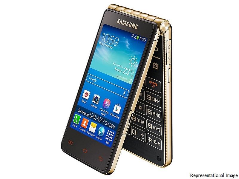 samsung galaxy golden 3 android flip phone specs leak on