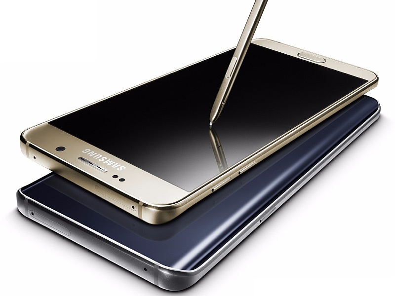 Samsung Galaxy Note 5 With 5.7-Inch QHD Display Launched at Rs. 53,900