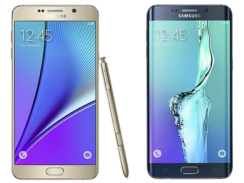 samsung galaxy note 5 galaxy s6 edge with 5 7 inch displays 4gb ram launched technology news. Black Bedroom Furniture Sets. Home Design Ideas