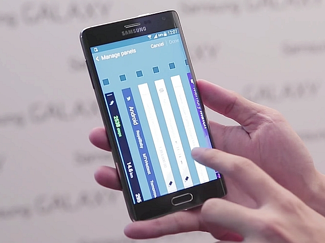 Samsung Galaxy Note Edge With Side Display Launched at Rs