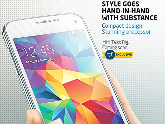 Samsung Galaxy S5 Mini Duos to Be Flipkart Exclusive in India