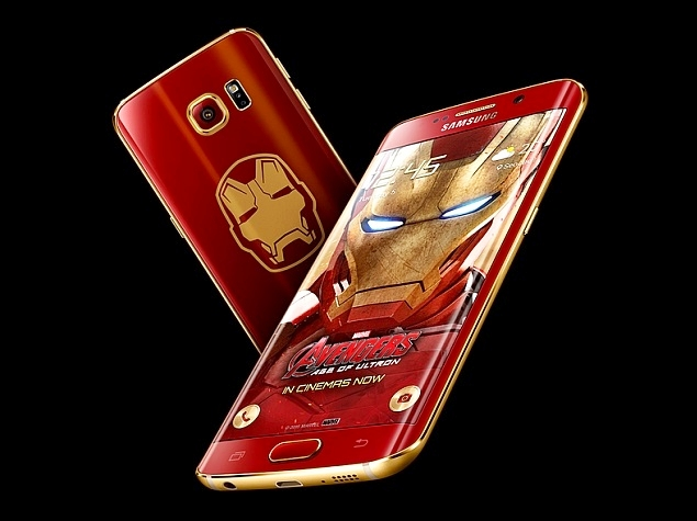 Samsung Galaxy S6 Edge Iron Man Limited Edition Launched