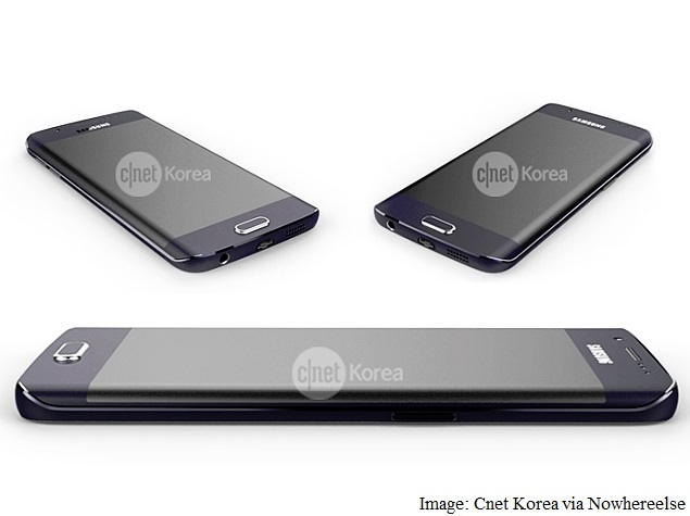 Samsung Galaxy S6 Edge Pictured In Leaked Images Ahead Of