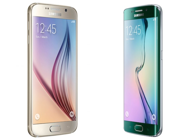 Forskjellige Samsung Galaxy S6, Galaxy S6 Edge Price in India Confirmed PJ-65