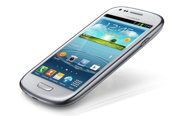 Samsung Galaxy S III mini spotted in 3 new colours