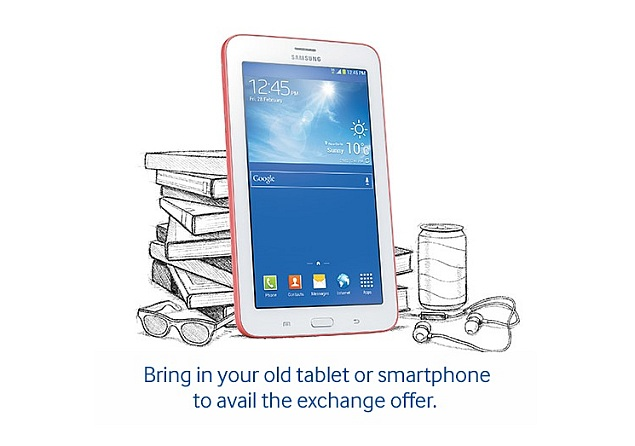 Samsung India introduces EMI and exchange offers for Galaxy Tab 3 range