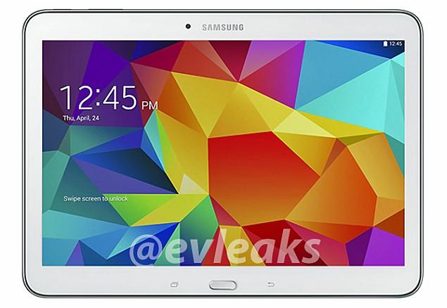 Samsung Galaxy Tab 4 10.1 leaked in alleged press render