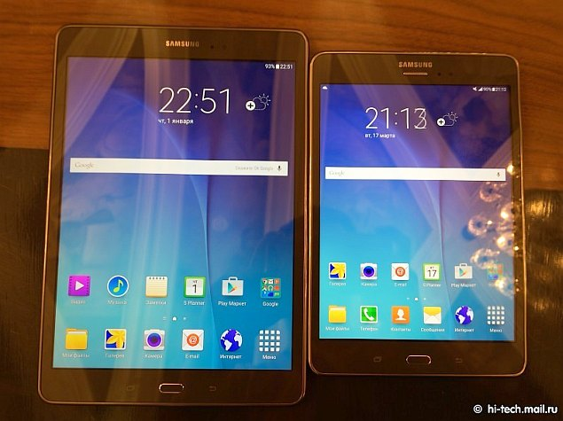 Samsung Galaxy Tab A Series and Galaxy Tab 3 V Budget Tablets Launched