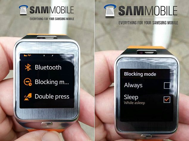 Samsung Gear 2 Smartwatch Receives Software Update With New Features