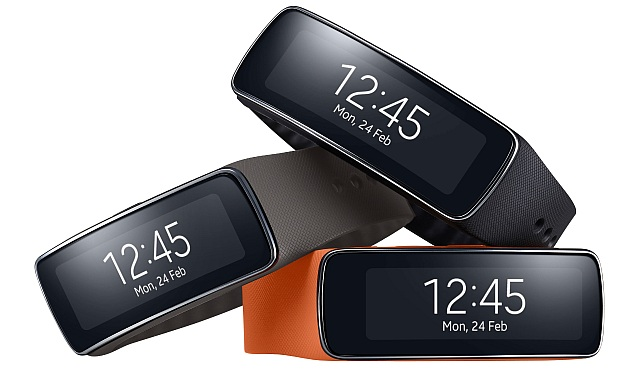 Samsung Gear Fit health wristband with curved Super AMOLED display launched
