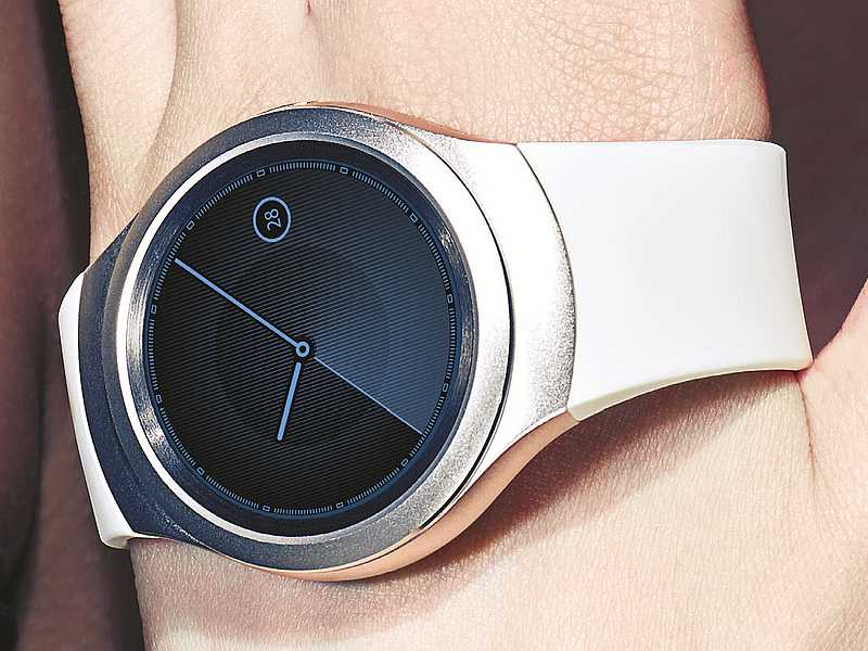 Samsung Gear S2 Circular Smartwatch Unveiled, Set to Launch in September