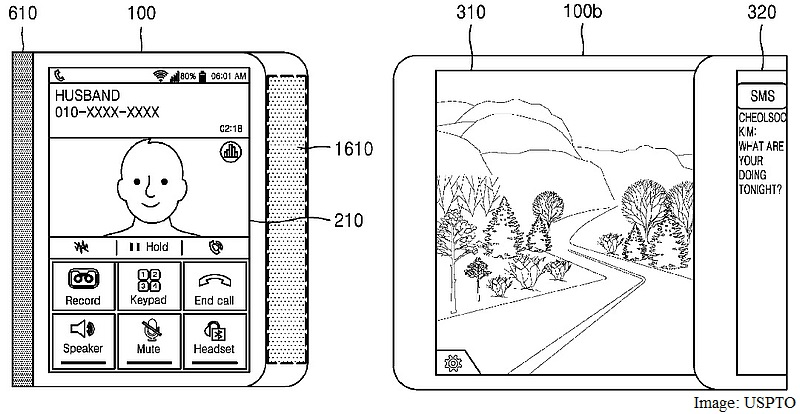 Samsung Patent Shows Designs for Foldable Smartphones and Tablets