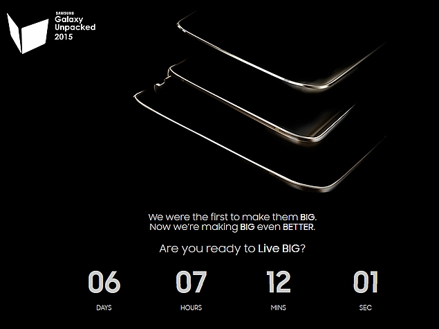 Galaxy Unpacked 2015: Three Devices Peep in New Teaser
