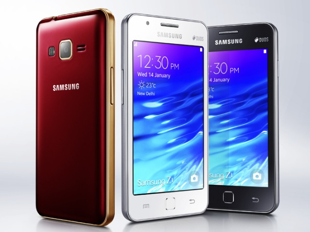 Samsung Z1 Smartphone With Tizen Launched at Rs. 5,700