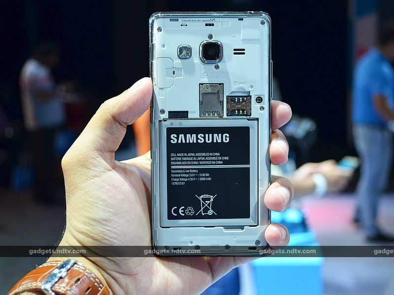 Samsung Z3 Rear Removed Shell Ndtv Samsungs
