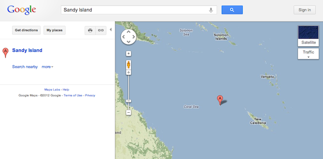 Aussie scientists un-discover Pacific island spotted on Google Maps