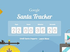 Google Launches Santa Tracker Website, Android App, Chrome Extension