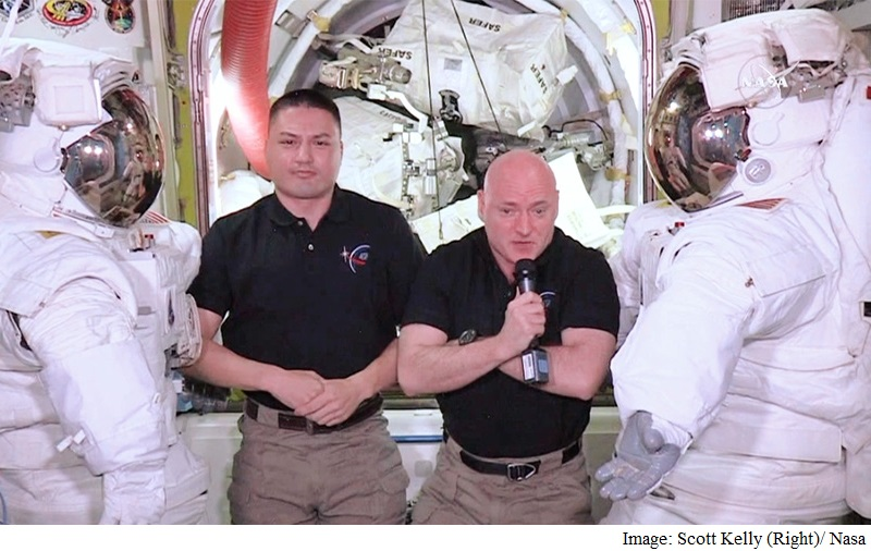 Scott Kelly Becomes Longest-Serving US Astronaut in Space