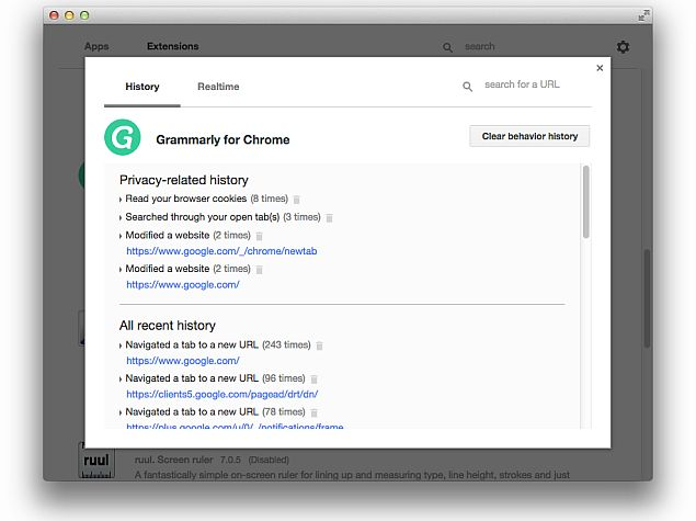 Users Can Now Track What Their Chrome Apps or Extensions Are Doing