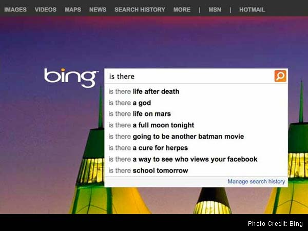 In search engine results, a peek at what we wonder