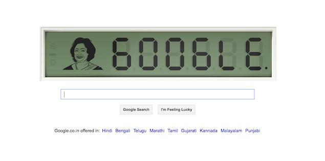 Shakuntala Devi's 84th birthday celebrated with a Google doodle