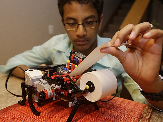 Shubham Banerjee S Low Cost Braille Printer Braigo To