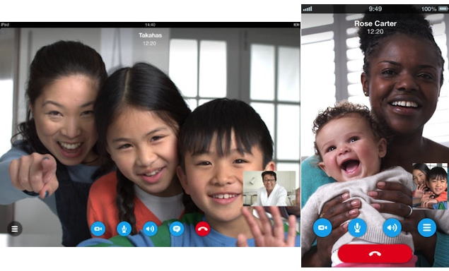 Skype for iOS update brings HD video calls to iPhone 5 and fourth-generation iPad