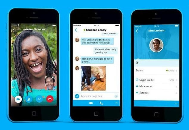 skype app for iphone skype 5 0 for iphone with all new ui now available for 6921