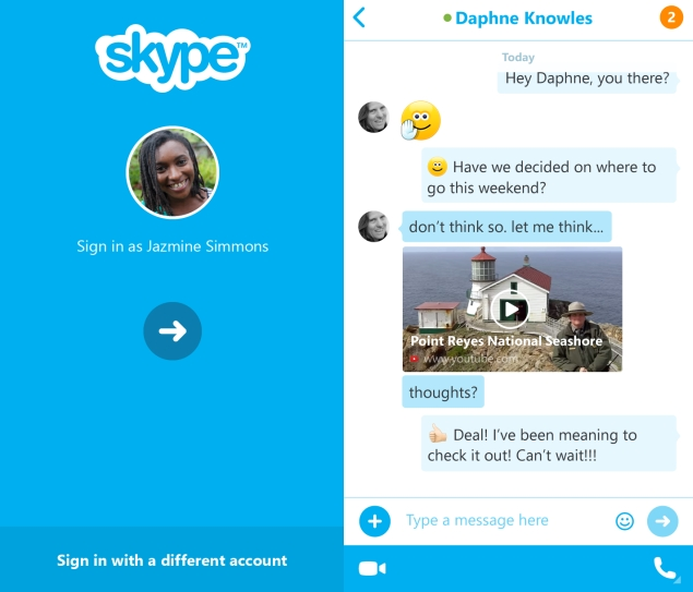 skype how to connect android